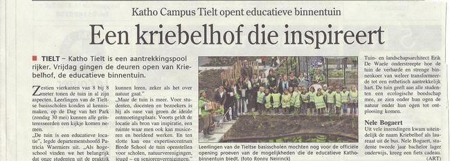 tn_deweekbode - kleuter 3 op bezoek in de educatieve tuin!